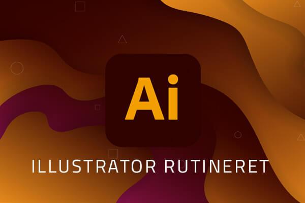 illustrator rutineret kursus