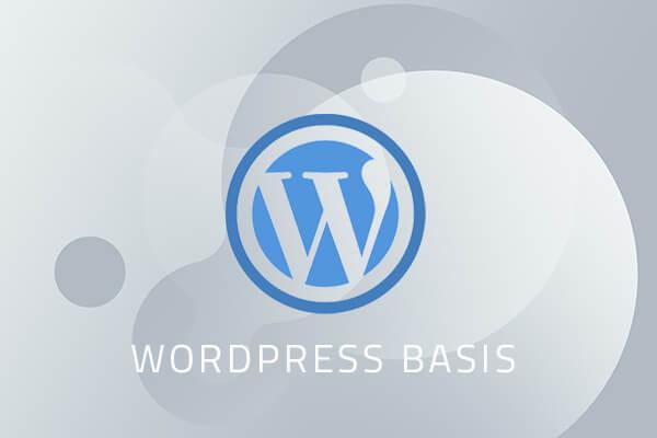 WordPress kursus basis